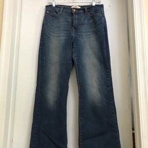 Like New Levi's Boot Cut Blue Jeans